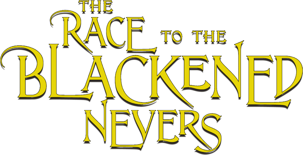 The Race to the Blackened nevers logo